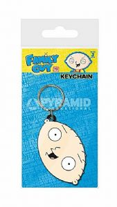 Family Guy Stewie PVC flexible keyring (py)